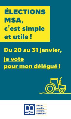 Elections MSA du 20 au 31 janvier 2020